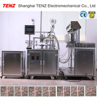 New product hotsell powder automatic fill cap machine