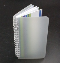 Hard Cover Plastic Cover Wire-O-Binding Notebook Agenda Diary Made Of A5 Size Paper