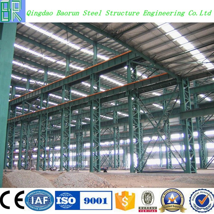 prefab steel structure factory workshop steel building