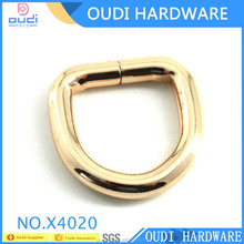 2017 Promotion belt buckle d ring solid brass d ring hardware