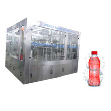 DCGF50-50-15 3-in-1 Automatic small plastic bottle carbonated soft drink/water/beverage filling machine
