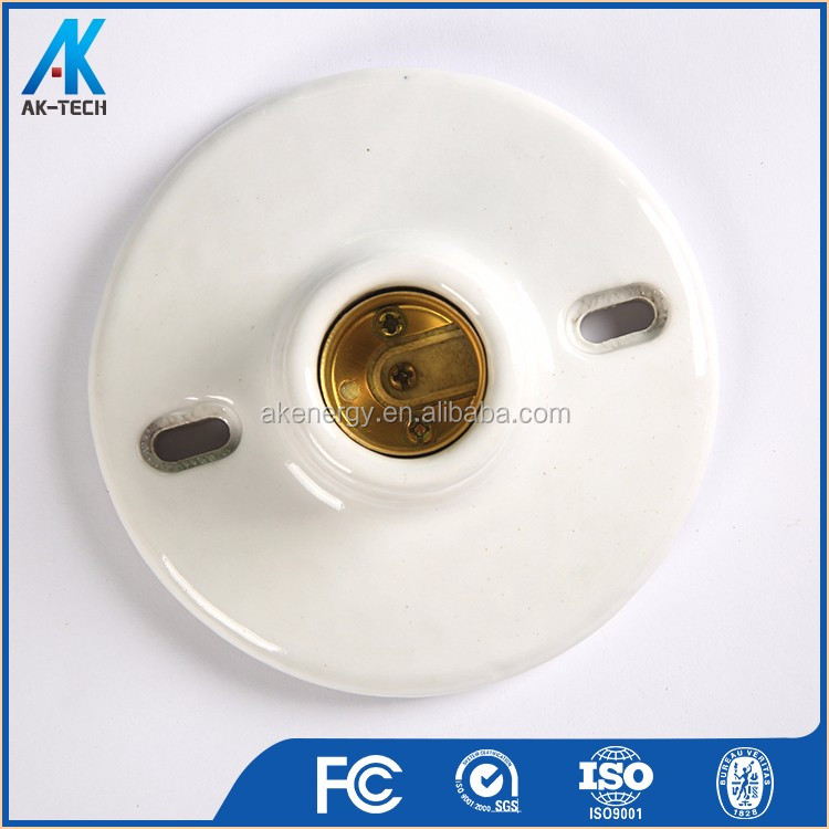 Lamp parts base ceramic bulb socket e27 brass shell lamp holder lamp parts base ceramic bulb socket e27 brass shell lamp holder aloadofball Choice Image