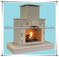 popular outdoor gas fireplace