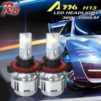 High Power All In One A336 3 COB Car H4 LED Headlight Bulbs H13 9004 LED Headlights 9007 High Low LED For Focus Light