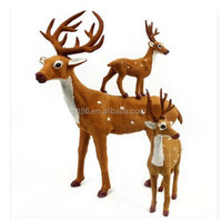 Christmas decorations outdoor led reindeer thai handicraft