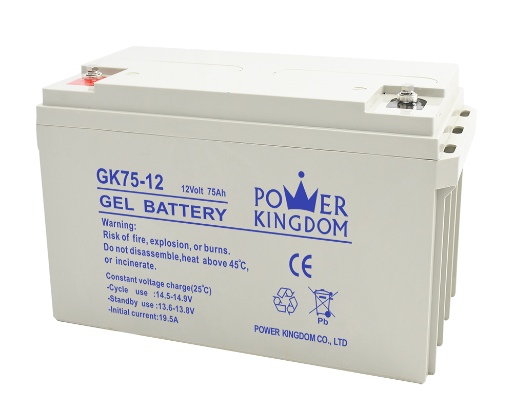 Power Kingdom 12v lead acid battery with good price medical equipment