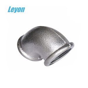 Fire Fighting price list Pipe Fitting banded Elbow galvanized 90 D 90 degree elbow with rib beaded