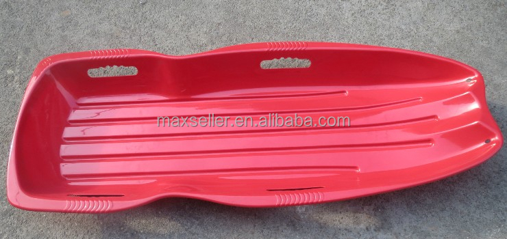 hot selling plastic snow sleigh/ snow slider/snow boat