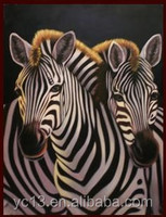 zebra designs the hot selling horse oilpainting