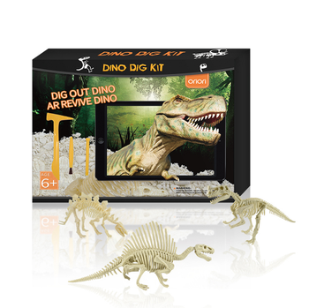 Archaeology Toys For Kids New 2019 STEM Educational fossil Excavation Dig It Out Science Toys Child Terra Cotta Warriors