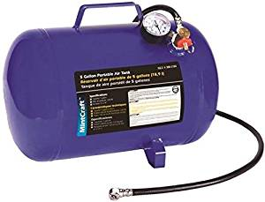 """New Mintcraft At05 Portable 5 Gallon Air Tank Ready To Use New In Box 9509829"""""""