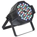 54 x 3w rgbwa led par 64 decorations for discotheques