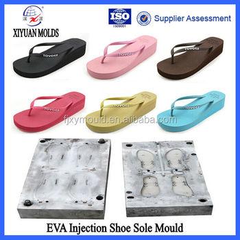 578720c87 Hot Selling Girls High Heel Plastic Injection Eva Flip Flops Mold ...