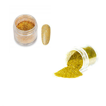 wholesale private label acrylic nails powder gold glitter
