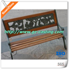customized aluminum art products park bench garden chair