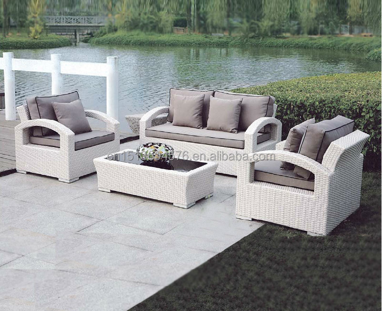 rat n sof sal n muebles del patio 2 seater sof para