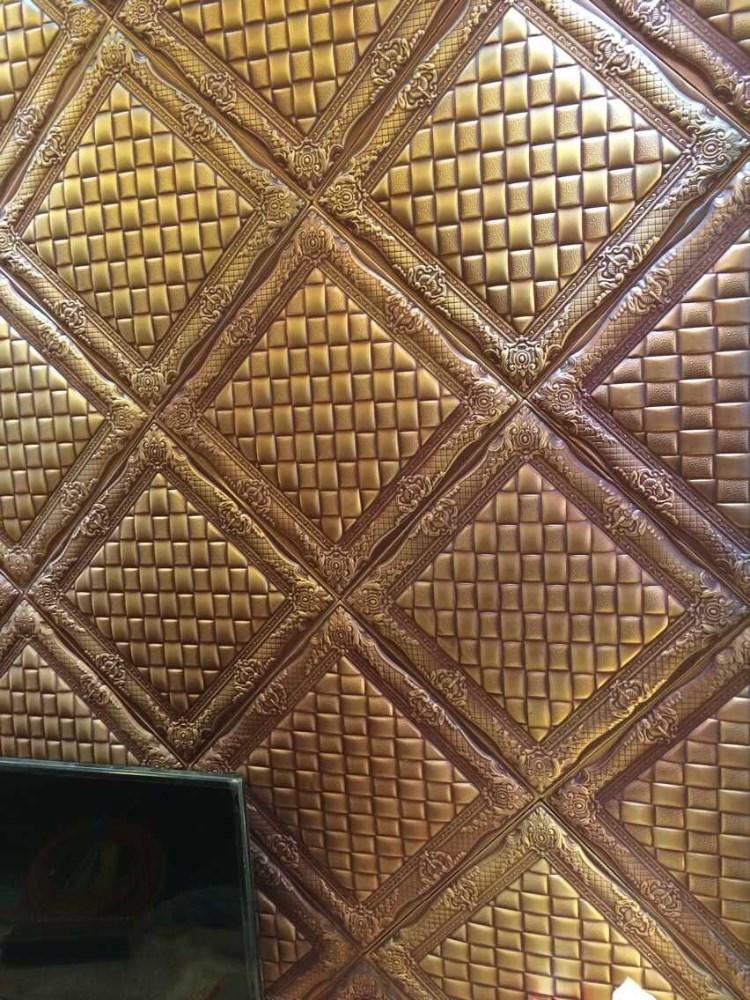 3d leder pu wand bord statt tapete decke auch farbe wie sie ben tigen platte der decke produkt. Black Bedroom Furniture Sets. Home Design Ideas