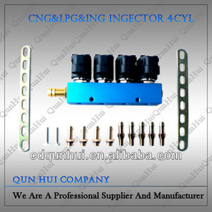 Car High Grade cng rail injector ford 6.0 diesel injectors