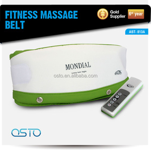 Vibrating belly slimming massager belt AST-813A CE/RoHS