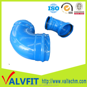 wastwater industry Ductile Iron Pipe Fittings all socket equal pipe elbow for pvc pipe connection use