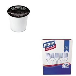 KITDXEFH207GMT6501CT - Value Kit - Green Mountain Coffee Roasters Regular Variety Pack Coffee K-Cups (GMT6501CT) and Dixie Plastic Cutlery (DXEFH207)