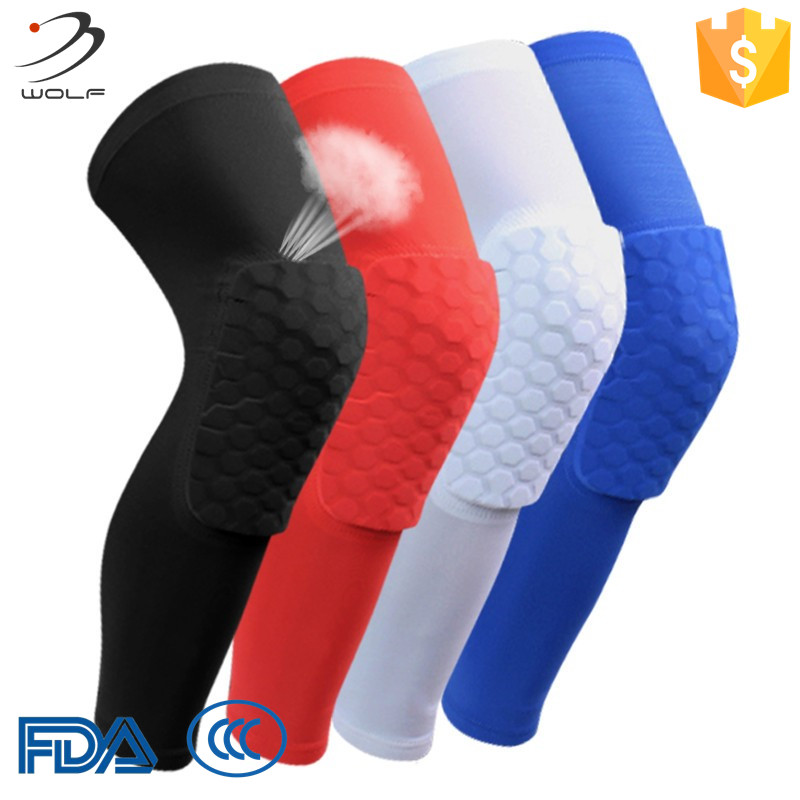 e55e9b4a41d944 Unisex Knee Support Recovery Colorful Knee Pads Copper Compression Knee  Sleeve