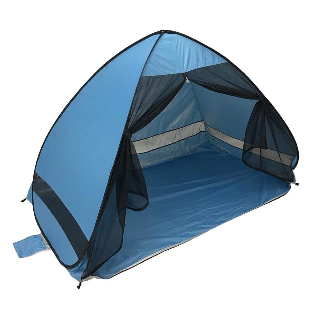 Prettyia Outdoor Automatic Pop up Tent Foldable Beach Anti UV Sun Shelter, Made of 170T UV Protection Waterproof Fabric