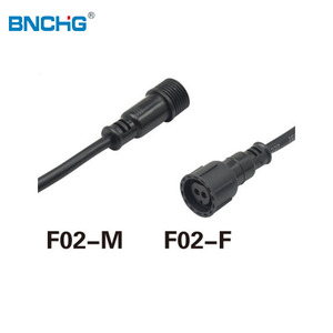 ODM OEM RoHS compliant Multipurpose outdoor waterproof connector 3 pin IP68 type