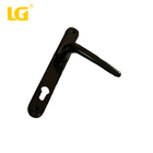 high quality top grade main black fasion re small design door handle and lock on plate