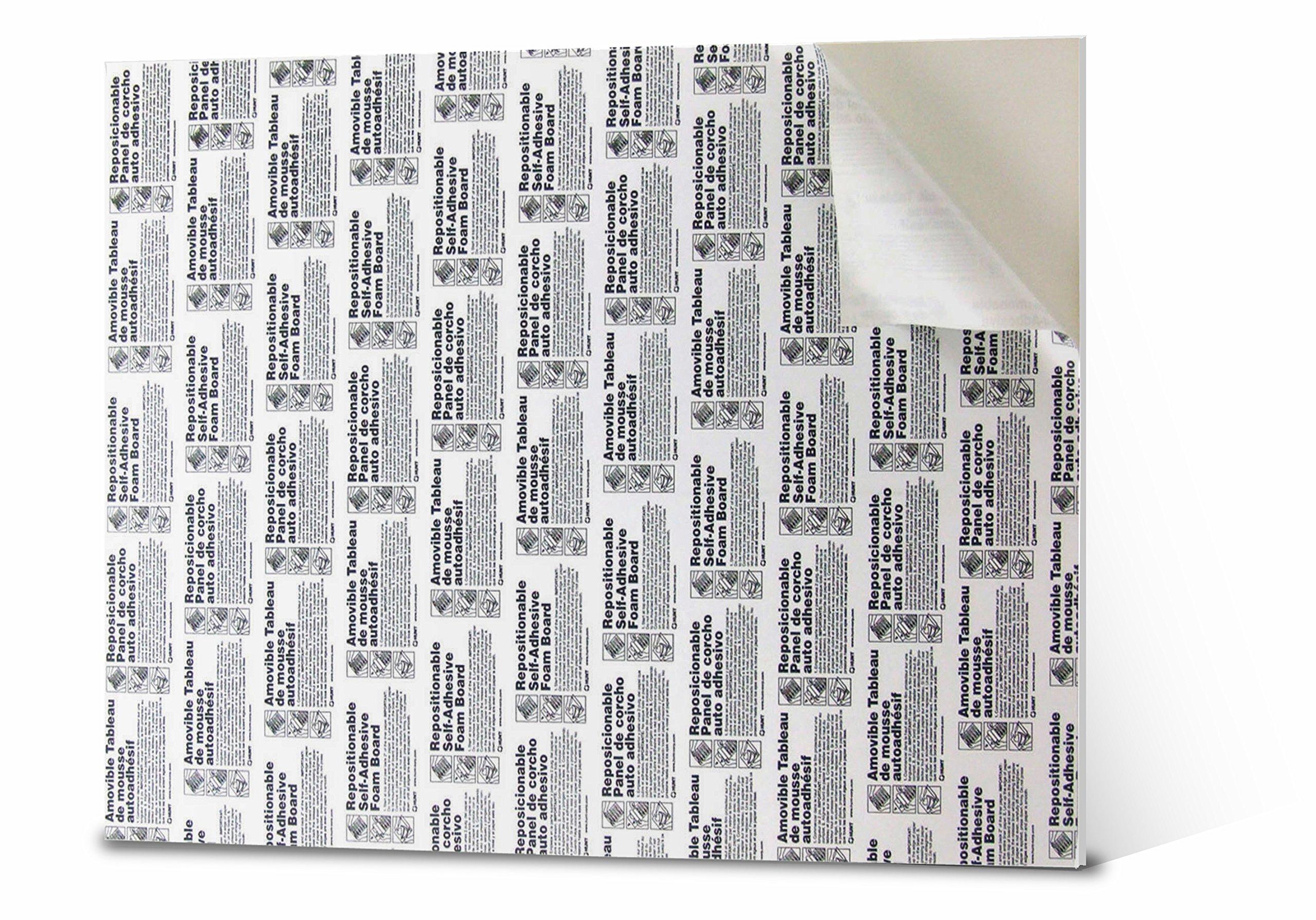 12x18 self adhesive poster board