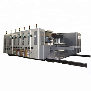 GIGA LX-308N produced auto corrugated carton box packing machine price flexo printing machinery