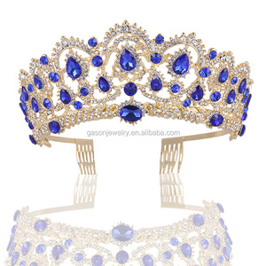 Wholesale cheap ballet crystal rhinestone tiara crowns