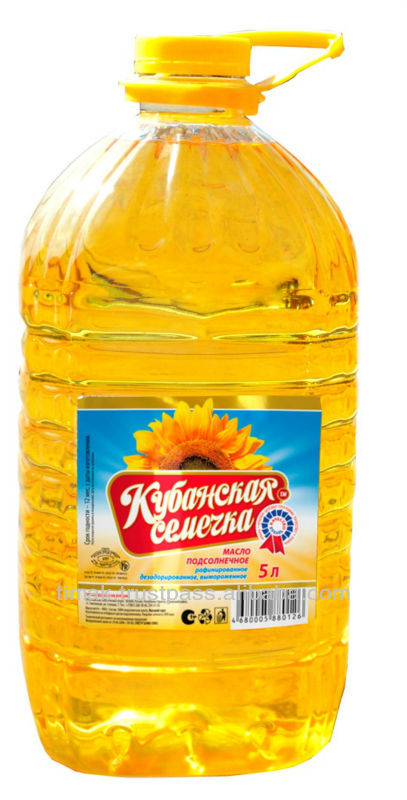 Sunflower Oil (refined And Unrefined)
