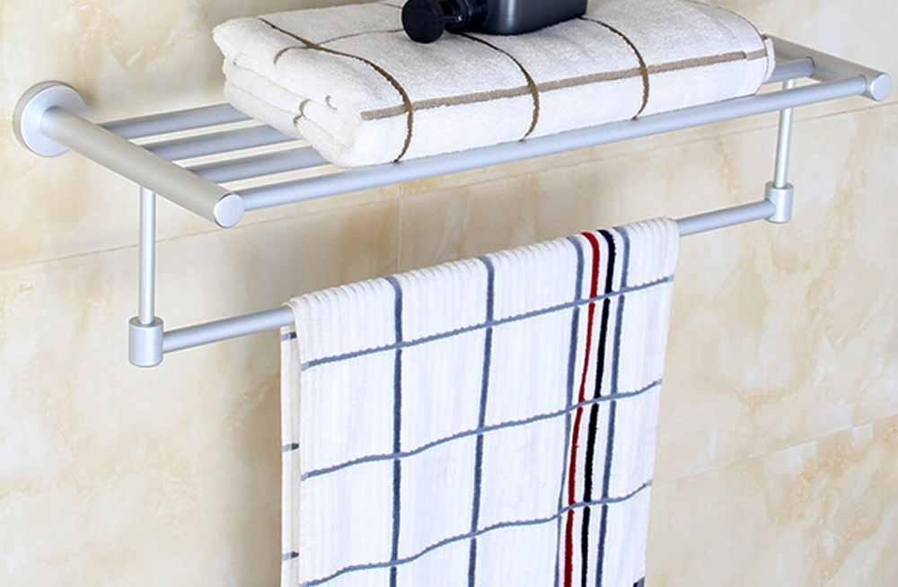 SBWYLT-Aluminum Towel rack's sleek, minimalist space, hotel bathroom Towel rack, toilet firm racks
