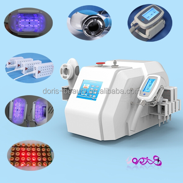Multifunctional beauty device cryolipolysis + velashape + lipo laser + cavitation + RF home use mini cryolipolysis slimming mach