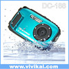 Manufacture original waterproof camera ,real 10M underwater sports digital camera