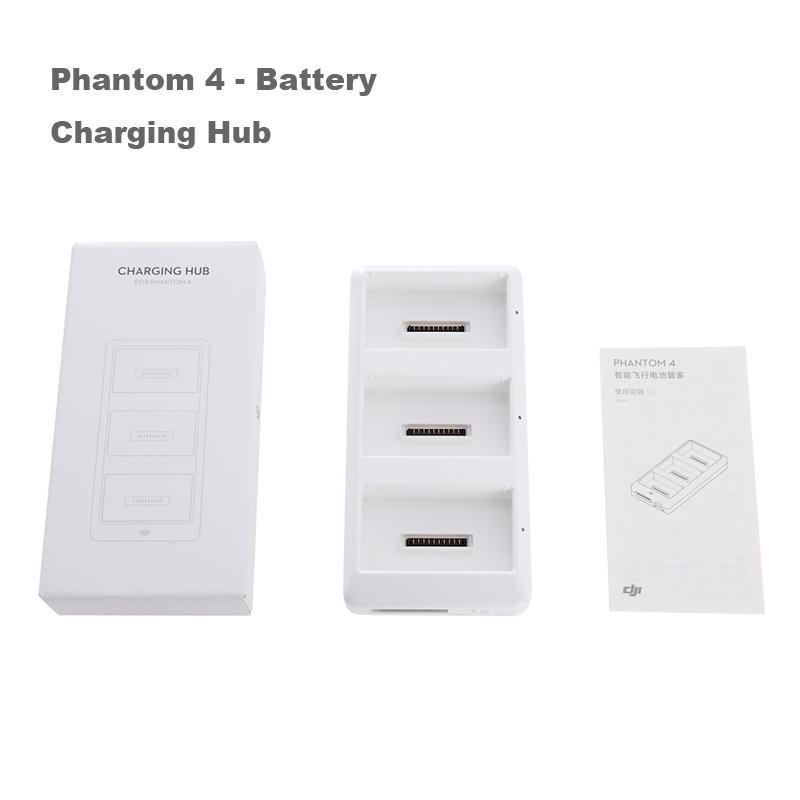 Original DJI Phantom 4 Battery Charging Hub Charge up to three Intelligent Flight Batteries for DJI