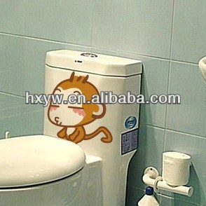 1b050f681cc9eb Grappige Aap Wc Sticker - Buy Wc Decoratie Sticker