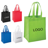Attractive design non woven recycled shopping tote bag