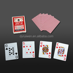custom casino plastic poker cards