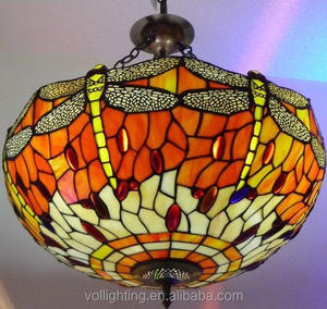 cheap stained glass tiffany-lamps wholesale pendant lamp