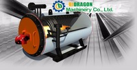 Bidragon-oil/gas/diesel fired horizontal thermal oil heater/ thermal fluid boiler/oversea service available