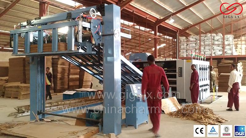 corrugated carton machine