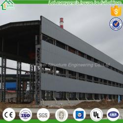 Chicken Broiler House Design Prefabricated Structure Building Steel Structure Workshop