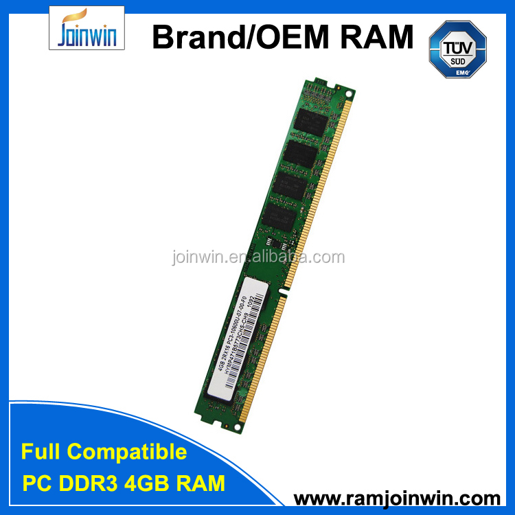 Original chips ddr 3 ram 4gb memory module accept paypal