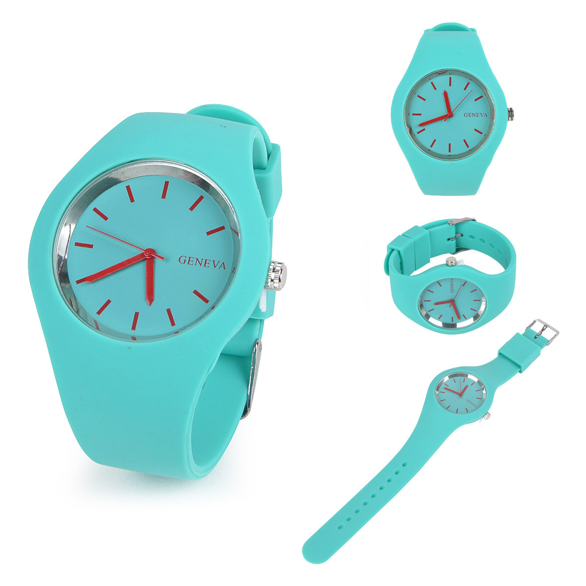 2018 Latest Silicone Japan movement waterproof top quality rubber watches