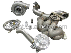 TEC Turbo kit Top Mount + Downpipe Wastegate for Toyota Corolla AE86 4AGE T3