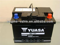 High quality of Dry charged car battery