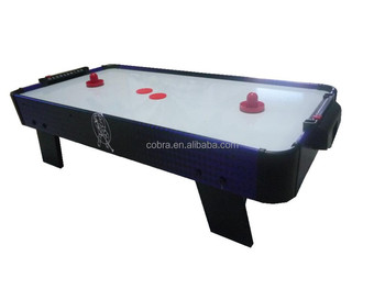 Baby Toys Mini Air Hockey Table With Graphic Painting Including Accessory  Freely