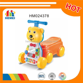 High quality educational musical baby walker